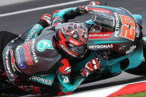 Quartararo shakes off Marquez for dramatic Malaysian MotoGP pole
