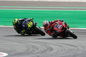 Dovizioso: Rossi doesn't make a stupid move