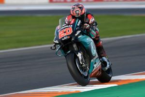 Quartararo keeps top spot from Marquez
