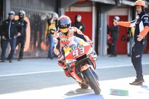 Valencia MotoGP - Warm-up Results