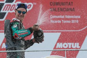 Quartararo: 'Eight out of ten'