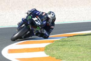 Vinales tops Valencia, but 'still 8km/h difference'