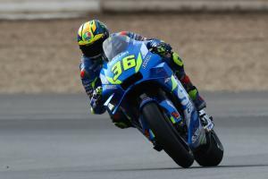 Mir: Suzuki engine smoother but not faster