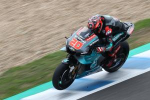 Quartararo gets new engine, explains gap to Vinales