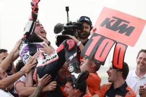 'Incredible race' - Arenas hands KTM 100th win