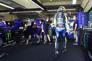 'Siaga merah' menghentikan Rossi, 'kami harus banyak berubah'