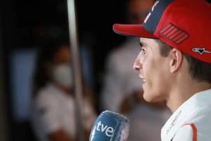 Dokter menjelaskan parahnya cedera Marquez, benturan ban lengan patah
