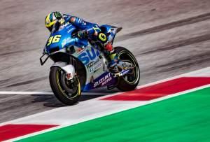 Mir proves himself to break MotoGP podium duck in style