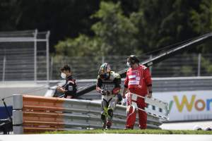 Surgery for Zarco after Austrian accident, FIM meeting