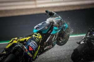 Valentino Rossi: Itu menakutkan