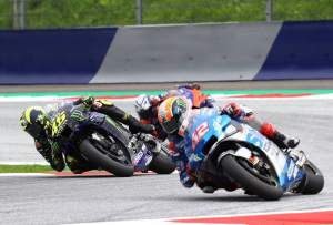 Rossi: Work and hope, Suzuki impressive