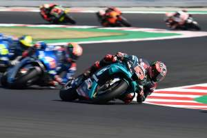 Fabio Quartararo, San Marino MotoGP Race. 13 September 2020