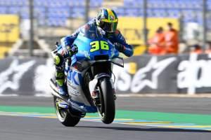 Joan Mir, French MotoGP. 10 October 2020