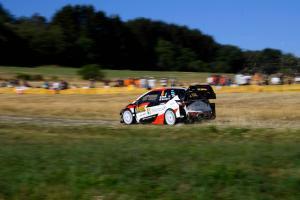 Rallye Deutschland - Classification after SS4