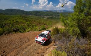 Tanak takes Rally Turkey lead following heavy attrition