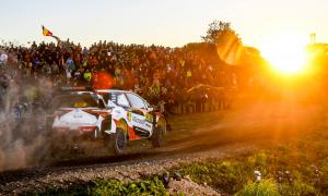 Tanak takes commanding lead on opening day in Spain