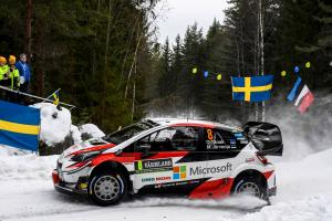 Tanak charges early at Rally Sweden