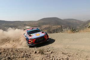 Rally Mexico - Classification SS4