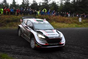 Wales Rally GB - Classification after SS7