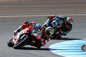Davies 'excited' for WSBK second place scrap with Sykes