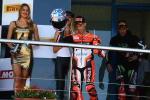 Second place felt like win, says Melandri