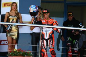 Second place felt like win, says Melandri