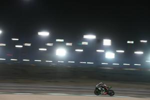 Rea sets lap record for Qatar pole position