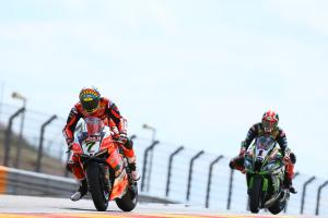 Davies, Rea share top spot with equal times