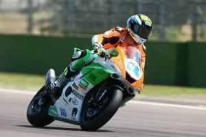 Cluzel beats Mahias to Donington pole