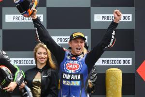 Van der Mark hails first Yamaha win 'long time coming'