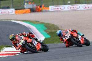Melandri, Davies suffering with Ducati's Donington Park woes