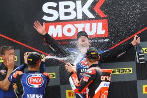 Lowes 'honoured' with Yamaha win after 'hard to take' Donington