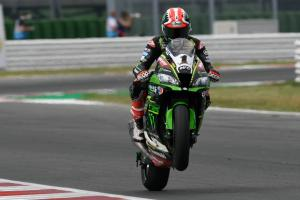 Rea lays down marker at Misano