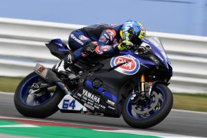 Caricasulo converts practice pace into pole