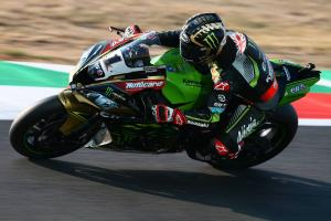 Rea celebrates World Superbike title with Magny-Cours double