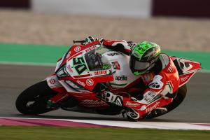 Qatar WorldSBK: Laverty leads after taking command in tight FP3