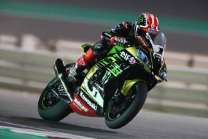 Qatar WSBK: Rea satisfied with second after FP1 fall