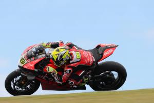 Bautista leads Rea after trading top times