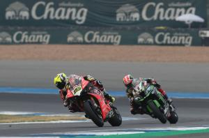 """Bautista: I was lucky not to crash in """"great fight"""" with Rea"""