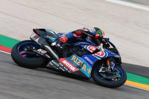 Van der Mark, Lowes put Yamaha top in Jerez FP1