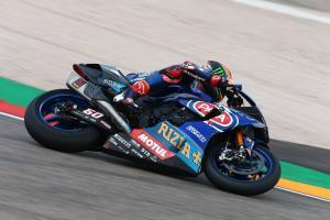 Van der Mark, Lowes put Yamaha top in Jerez FP1