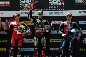 Sizzling Rea scorches Bautista in Jerez Superpole