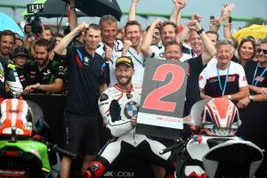 Sykes savours first WorldSBK podium with BMW