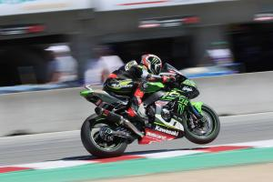 Rea usurps Davies at Laguna Seca ahead of Superpole
