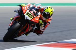 Bautista breaks Rea's Portimao dominance in warm-up