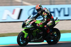 Rea leads warm-up as full World Superbike grid returns to action