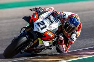 Rinaldi pips Rea by 0.001s to top Teruel WorldSBK FP1