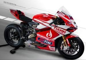 Wraps come off Alstare Ducati 1199