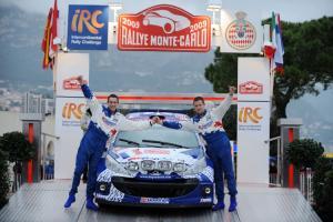 Sebastien Ogier. Rallye Monte Carlo winner 2009.