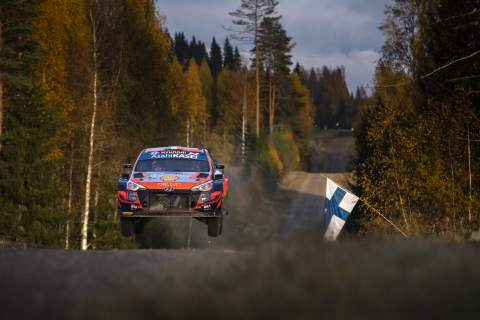Leading a WRC round is a special feeling, says Breen